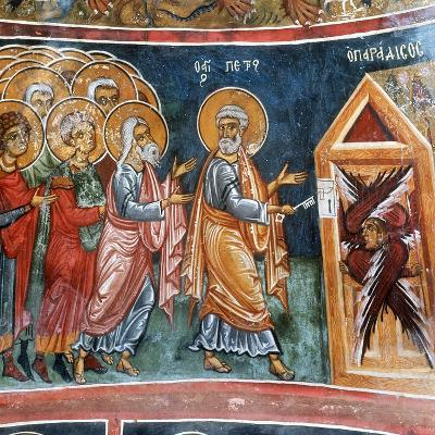 St Peter Opening the Gates of Paradise--Giclee Print