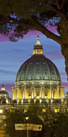 St. Peter's Basilica, Rome, Lazio, Italy-Rainer Mirau-Photographic Print