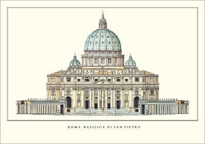St. Peter's Basilica, Rome-Carlo Maderno-Art Print