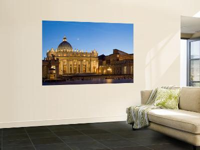 St. Peter's Basilica, The Vatican, Rome, Italy-Michele Falzone-Wall Mural