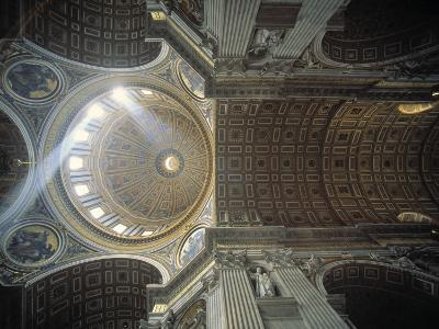 St. Peter's Basilica, Vatican, Rome, Italy-Jon Arnold-Photographic Print