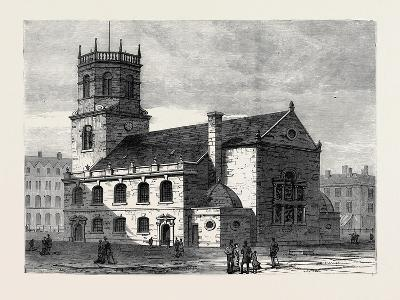St. Peter's Church Liverpool the Cathedral of the New Diocese 1880--Giclee Print