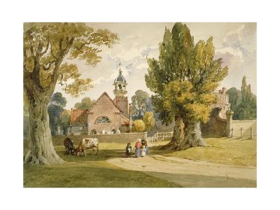 St Peter's Church, Petersham, Surrey, 1820--Giclee Print