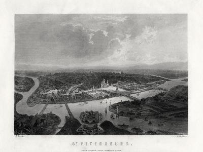 St Petersburg, Russia, 19th Century-S Bradshaw-Giclee Print