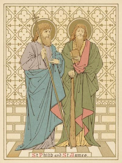 St Philip and St James-English School-Giclee Print