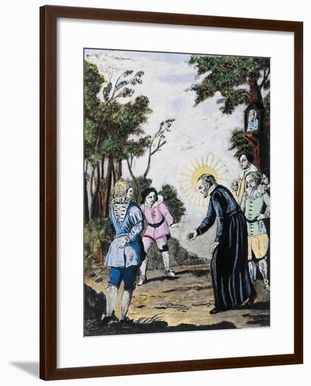 St. Philip Neri--Framed Giclee Print