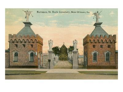 St. Roch Cemetery, New Orleans, Louisiana--Art Print