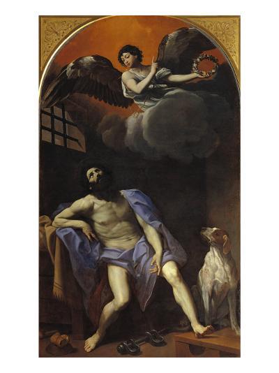 St Roch in Prison-Masaccio-Giclee Print
