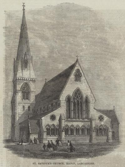 St Saviour's Church, Bacup, Lancashire--Giclee Print