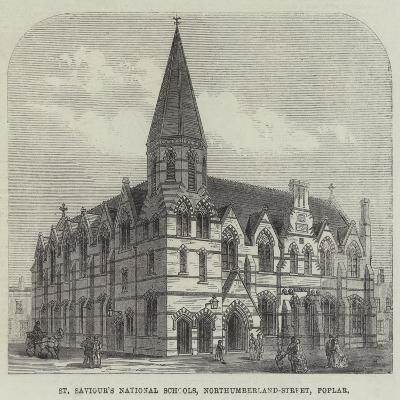 St Saviour's National Schools, Northumberland-Street, Poplar--Giclee Print