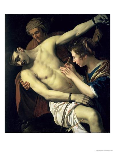 St. Sebastian and St. Irene, 1624-Jan Harmensz. Bylert-Giclee Print