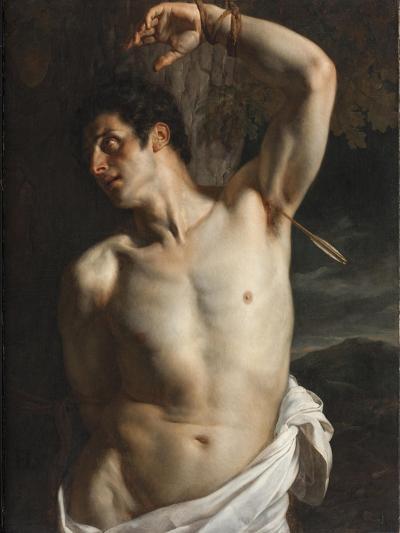 St. Sebastian-Hippolyte Delaroche-Giclee Print