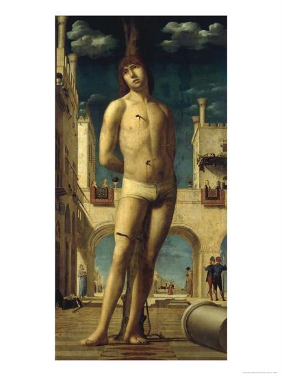 St.Sebatian-Antonello da Messina-Giclee Print