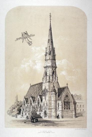 St Silas' Church, Penton Street, Finsbury, London, C1867-Day & Son-Giclee Print