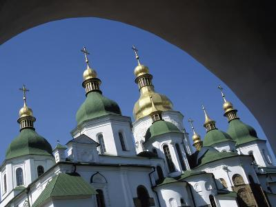 St Sophia Cathedral and Archway-Design Pics Inc-Photographic Print