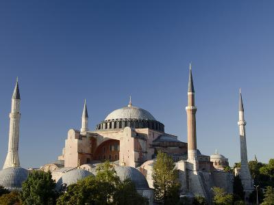 St. Sophia, Hagia Sophia Mosque (Aka Aya Sophia Haghia Sophia), Istanbul, Turkey-Cindy Miller Hopkins-Photographic Print