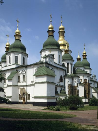 St. Sophia's Cathedral, Kiev, Ukraine--Photographic Print