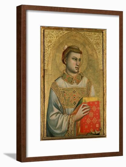 St. Stephen, 1320-25-Giotto di Bondone-Framed Giclee Print