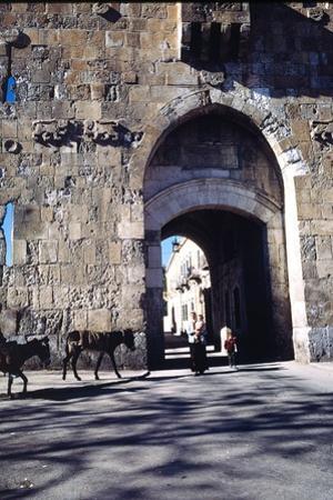 St. Stephen's Gate, Jerusalem, Israel