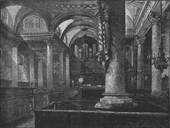 'St. Stephen's, Walbrook', 1890-Unknown-Giclee Print
