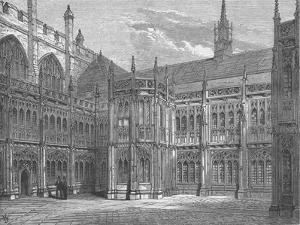 St Stephens Cloisters, 1897