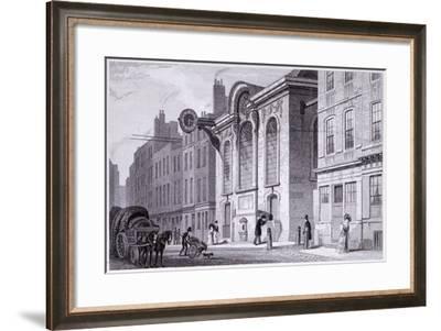 St Swithin London Stone, London, 1831-James Tingle-Framed Giclee Print
