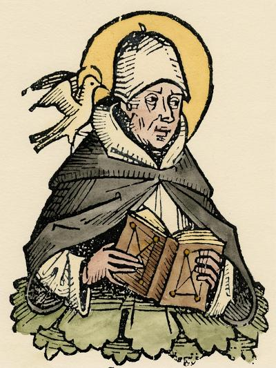 St Thomas Aquinas, 13th Century Italian Philosopher and Theologian--Giclee Print