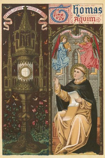 St Thomas Aquinas-English School-Giclee Print