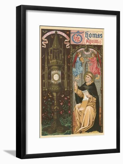 St Thomas Aquinas-English School-Framed Giclee Print