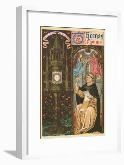 St Thomas Aquinas-English School-Framed Giclee Print