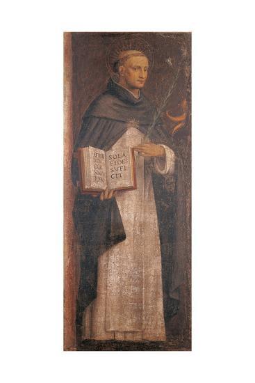 St Thomas Aquinas-Bernardino Luini-Giclee Print