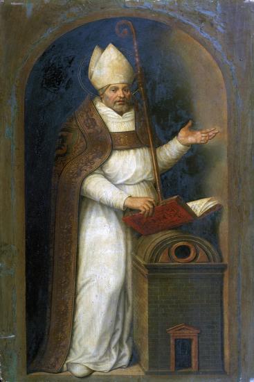 St Thomas De Villeneuve, 1597-Juan De juanes-Giclee Print