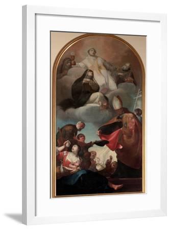 St. Thomas from Villanova-Felice Boscarati-Framed Giclee Print
