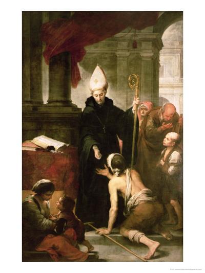 St. Thomas of Villanueva Distributing Alms, 1678-Bartolome Esteban Murillo-Giclee Print