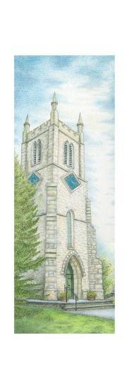 St. Thomas's Chruch Clock, Milnthorpe, Cumbria, 2009-Sandra Moore-Giclee Print