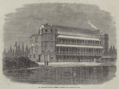 St Thomas's Hospital, Surrey Gardens-Thomas Harrington Wilson-Giclee Print
