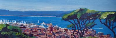 St Tropez Summer Sun Seaview in France-Markus Bleichner-Art Print