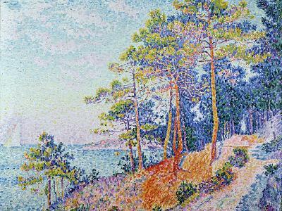St. Tropez, the Custom's Path, 1905-Paul Signac-Giclee Print