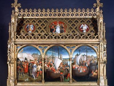 St Ursula Shrine, 1489-Hans Memling-Photographic Print