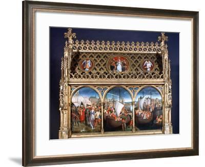 St Ursula Shrine, 1489-Hans Memling-Framed Photographic Print