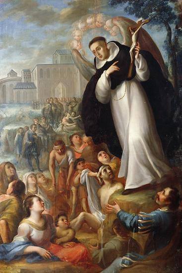 St Vincent Ferrer Speaks of Christ to Pagans. Mexico--Giclee Print