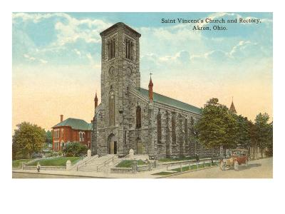 St. Vincent's Church, Akron, Ohio--Art Print