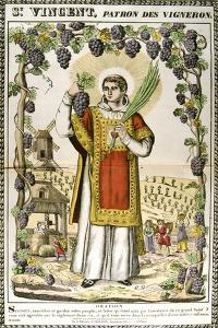 St Vincent, Spanish Christian Martyr, 19th Century