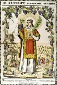St Vincent, Spanish Christian Martyr, 19th Century