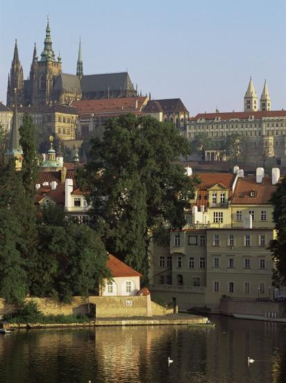 St. Vitus Cathedral and Castle, Prague, Czech Republic-Upperhall-Photographic Print