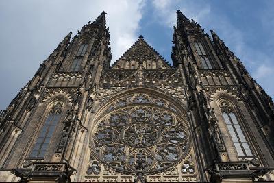 St. Vitus Cathedral, Prague, Czech Republic--Photographic Print