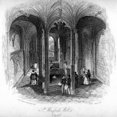 St Winifrede's Well, Holywell, Flintshire, Wales--Giclee Print