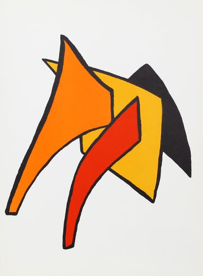 Stabiles VI from Derriere Le Miroir-Alexander Calder-Collectable Print