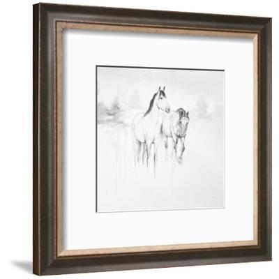 Stable I-Cecil K.-Framed Art Print