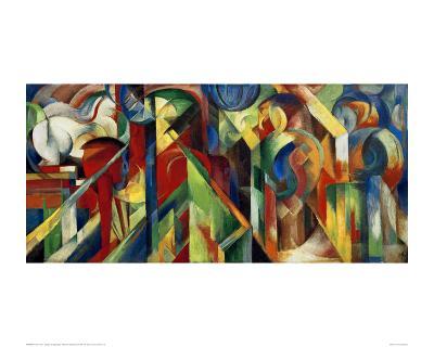 Stables-Franz Marc-Art Print